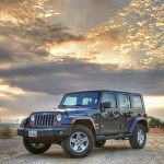 Jeep Wrangler Sunset