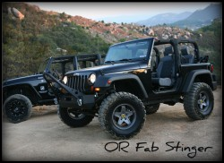 Jeep bumper - stinger